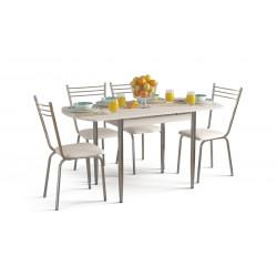 Комплект ВЕГАС Стол + 4 стула