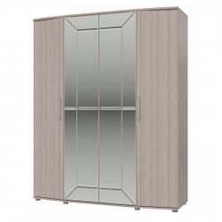 Амели Шкаф 4-х дверный с ящиками