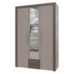 Азалия Шкаф распашной 3х дверный с ящиками