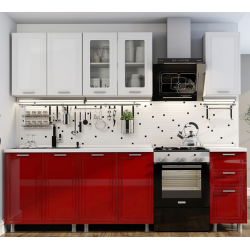 Кухня Монро (бел.гл/рубин гл.)