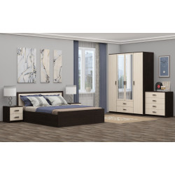 Модульная спальня Фиеста-1
