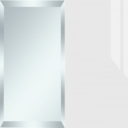 Зеркало/стекло белое