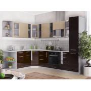 Модульная кухня Капля (Кофе с молоком/Шоколад)