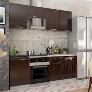 Модульная кухня Капля-2 (Шоколад)