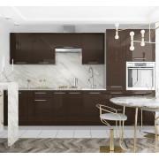 Модульная кухня Капля (Шоколад)