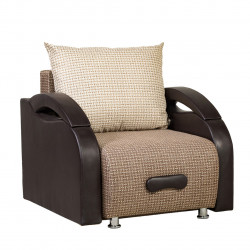 Кресло-кровать Юпитер Ратибор тёмный