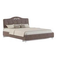 """Мягкая кровать  """"Adelina 1 """" Ажур 22"""