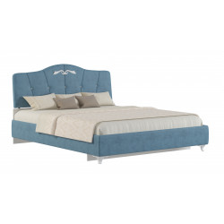 """Мягкая кровать  """"Adelina 1 """" Ажур 38"""