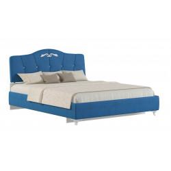 """Мягкая кровать  """"Adelina 1 """" Ажур 43"""