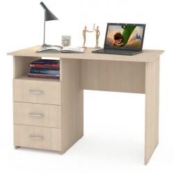 Письменный стол Комфорт 10 СК (Дуб беленый)