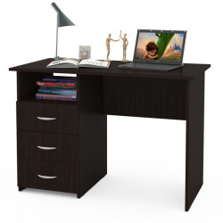 Письменный стол Комфорт 10 СК (Венге)