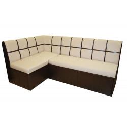 """Кухонный диван """"Квадро 5 ДУ"""" со спальным местом 1 кат."""