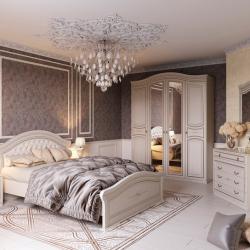 Модульная спальня Николь (Ясень жем.)