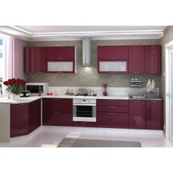 Модульная кухня Ксения (Бордо)