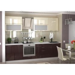 Модульная кухня Ксения (Ваниль/Шоколад)