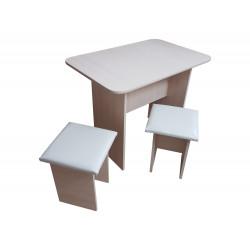 Комплект для уголка кухонного (Стол, 2 табурета)