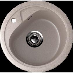 ES-10/302, Мойка круглая, искусственный камень, песочный