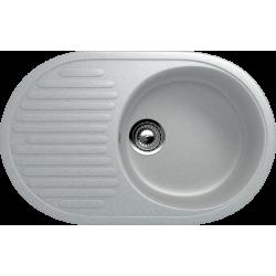 ES-16/310, Мойка овальная, искусственный камень, серый