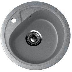 ES-10/309, Мойка круглая, искусственный камень, тёмно-серый