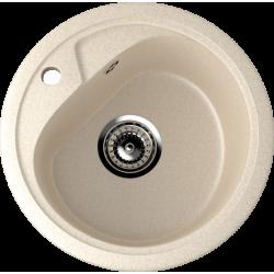 ES-10/328, Мойка круглая, искусственный камень, бежевый