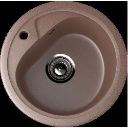ES-10/307, Мойка круглая, искусственный камень, терракот