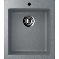 ES-14/309, Мойка квадратная, искусственный камень, тёмно-серый