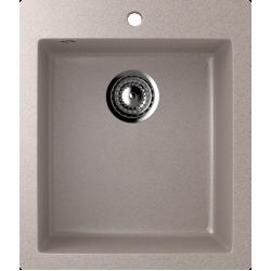ES-14/302, Мойка квадратная, искусственный камень, песочный