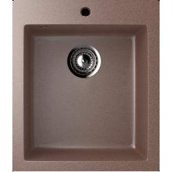 ES-14/307, Мойка квадратная, искусственный камень, терракот